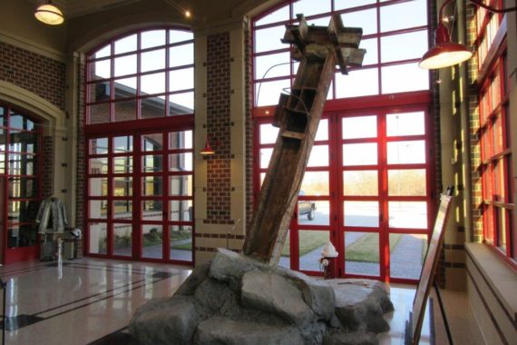 9/11 Artifact MarCorp Project Bennington Fire Station